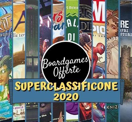 Classificone 2020 Boardgames Offerte